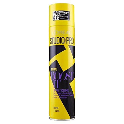L 'Oréal Paris Studio/Pro Boost It Loud Volume Spray 400ml