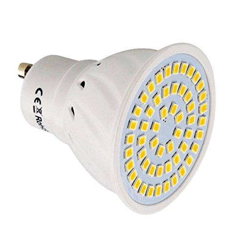 Bombilla LED Proyector LED GU10 54LED 5W (Reemplazo equivalente...