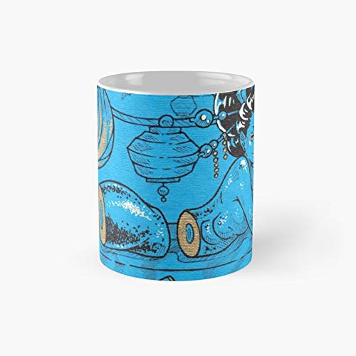 Delicious Sushi Classic Mugh - Funny Gift Coffee Mug Tea Cup White 11 Oz The Best Gift For Holidays.