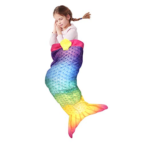 Sleepfun Bag Kuschelige Meerjungfrau Kinder Decke Original aus TV-Werbung