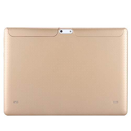 FOLOSAFENAR Pantalla táctil de 10 Pulgadas, cámara Dual, procesador de Cuatro núcleos Integrado, 8 Pulgadas, Tableta HD Tablet PC Función GPS 3G / WiFi 128Gb Memoria extendida (Enchufe de la UE)