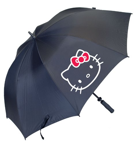 Hello Kitty Golf Women's Diva Collection Tour Umbrella, Black