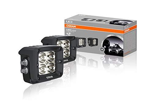 LEDriving CUBE VX80-SP, OFF ROAD LED Zusatzscheinwerfer für Fernlicht, Spot, 1300 Lumen, Lichtstrahl bis zu 114 m, rechteckige Hochleistungs-LED-Spots im Duo-Pack (2 Stk)