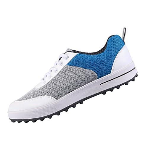 Scarpe da Golf per Donna Senza Maniche Traspiranti, Scarpe da Ginnastica da Passeggio Casual a Rete Leggera
