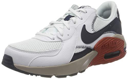 Nike Air MAX Excee, Zapatillas para Correr Hombre, White Obsidian Enigma Stone, 44.5 EU