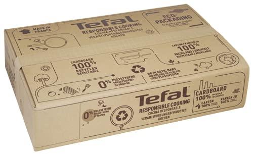 Tefal Unlimited On - Juego de 3 Sartenes: 3 Sartenes de 20/24/28 cm con revestimiento muy resistente, Thermo-Signal, Thermo-Fusion, forma profunda, todo tipo de cocinas, apto para horno, sin PFOA