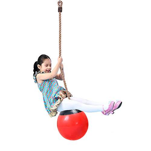 ZJJ Altalena gonfiabile per Bambini, altalena pieghevole per alberi appesi per giochi da giardino all'aperto, Cortile interno, carico Massimo 200 kg