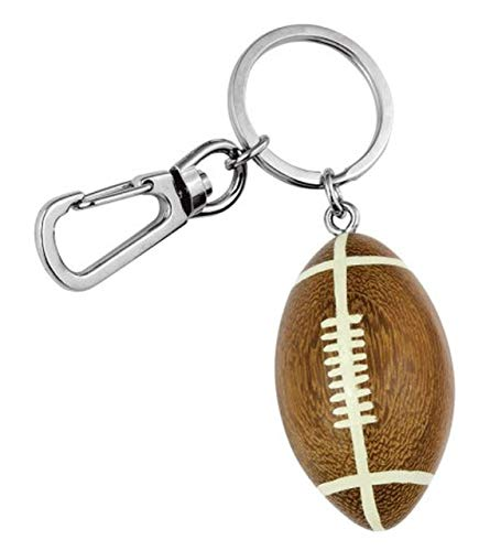 "Ten SCHLÃœSSELANHÃ""NGER American Football cod.EL34020 cm 8,5x2,8x2,8h by Varotto & Co."