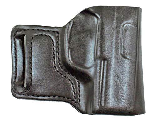 Gunhide, 115, E-GAT Slide, Belt Holster, Fits SIG P938, Right Hand, Black Leather