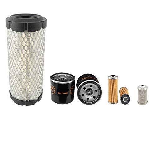 Yanmar B 15-3 Filter Service Set Mit/Yanmar 3TNE68-ENBAC Motor Luft Öl Kraftstoff Filter