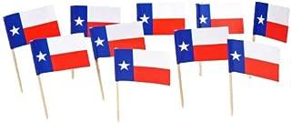Texas   Texan Flag Toothpicks (100)
