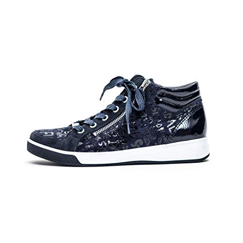 ara Damen ROM Hohe Sneaker, (Blau, Navy 05), 35 EU(2.5 UK)