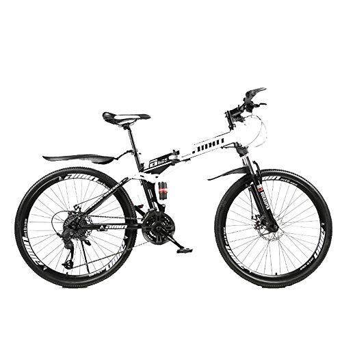 MW Bicycle,Road Bike,Mountain Bike,Foldable Mountain Bike 21/24/27/30 Speed 26 Inches, Soft Tail Bicycle,MTB Bicycle with Spoke Wheel,Student Variable Speed Bike,27 Speed