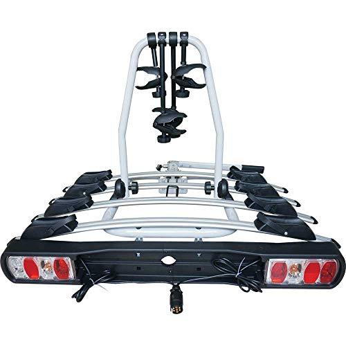 4 Titan Streetwize portabicicletas 4 bici remolque montaje plataforma trasera