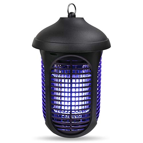 New Electric Bug Zapper 4000V, 40W Indoor Insect Killer, Waterproof Mosquito Killer UV Lamp Trap for Flying Bugs, Moth, Gnat Control, Bug Repellent Machine for Indoor & Outdoor