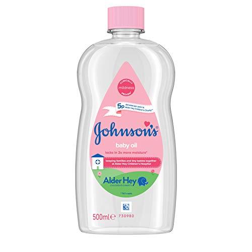 Johnson's - Huile pour bébé - 500 ml