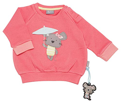 Sigikid Baby-Mädchen Sweatshirt, Rosa (Pink Lemonade 147), (Herstellergröße: 80)