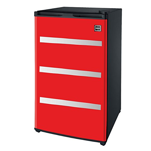 Igloo RFR329-Red Garage Fridge Tool Box, 3.2 Cubic Feet, Red