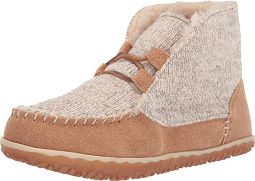 Minnetonka Women's Torrey Suede Indoor and Outdoor Bootie Slippers 9 M Cinnamon