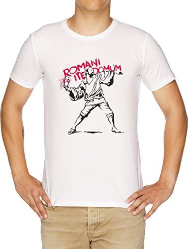 Romani ITE Domum Camiseta Hombre Blanco