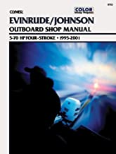 Clymer Evinrude/Johnson Four-Stroke Outboard Shop Manual 5-70 HP, 1995-2001
