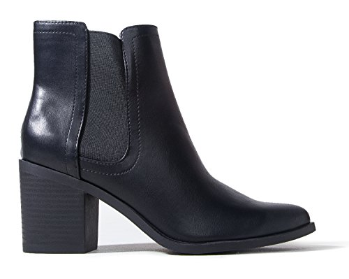 J. Adams Andi Chelsea Boots for Women - High Heel Slip-On Ankle Boots for Women