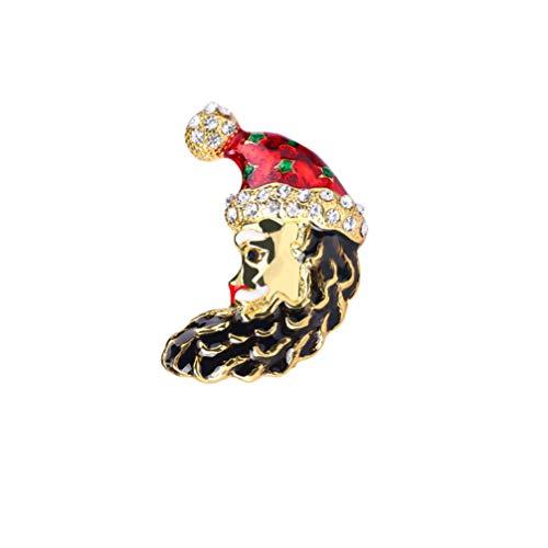 Tendycoco Kerstbroek, kerstmuts, maanvorm, jurk, accessoires voor haarspelden, voor feestjes, vrouwen en meisjes