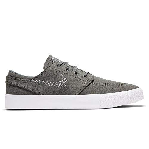 Nike Zoom Janoski FLYLEATHER RM, Zapatillas Deportivas Unisex Adulto, Tumbled Grey White Tumbled Grey White White, 52.5 EU