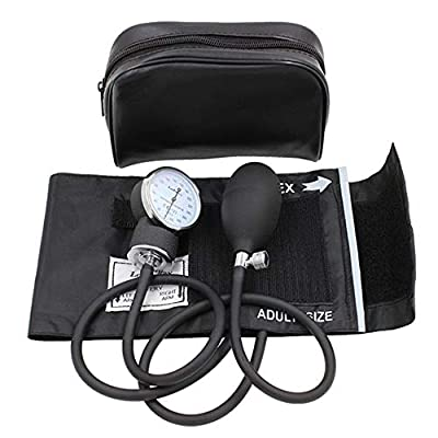 "Aneroid Sphygmomanometer by LotFancy, Professional Manual Blood Pressure Monitor (M Sized Cuff(10""-16""))"