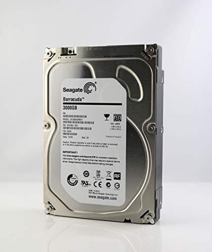 "Seagate ST3000DM001 3.5\"" interne Festplatte 3TB, 7200 RPM, 64MB Cache, SATA III, 3000GB - recertified"