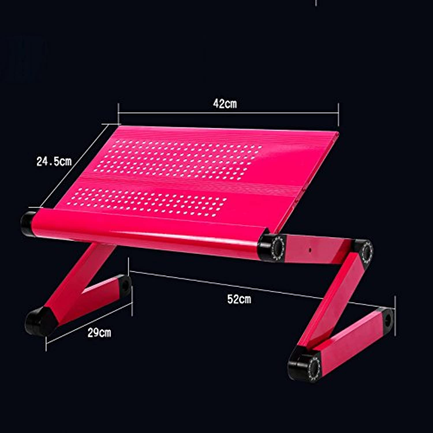 Qiaoba- The Couch fold Desk Aluminum Alloy Notebook Lapdesk B