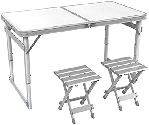 comprar ahora BJYG Mesa Plegable Mesa de Actividades para el hogar hogar hogar al Aire Libre Mesa de aleación de Aluminio Mesa de Aprendizaje Mesa Perezosa (Color  C)  entrega rápida