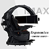 XBRMMM Sedia da Gioco per Computer Adatta A Tutte Le...