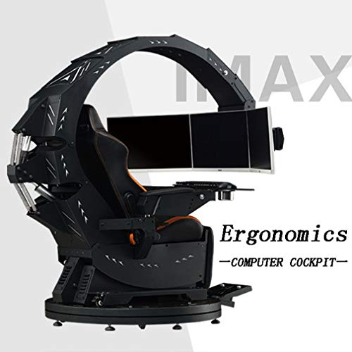 XBRMMM Silla Computadora Juego Chair Apto para Todas Las Principales S
