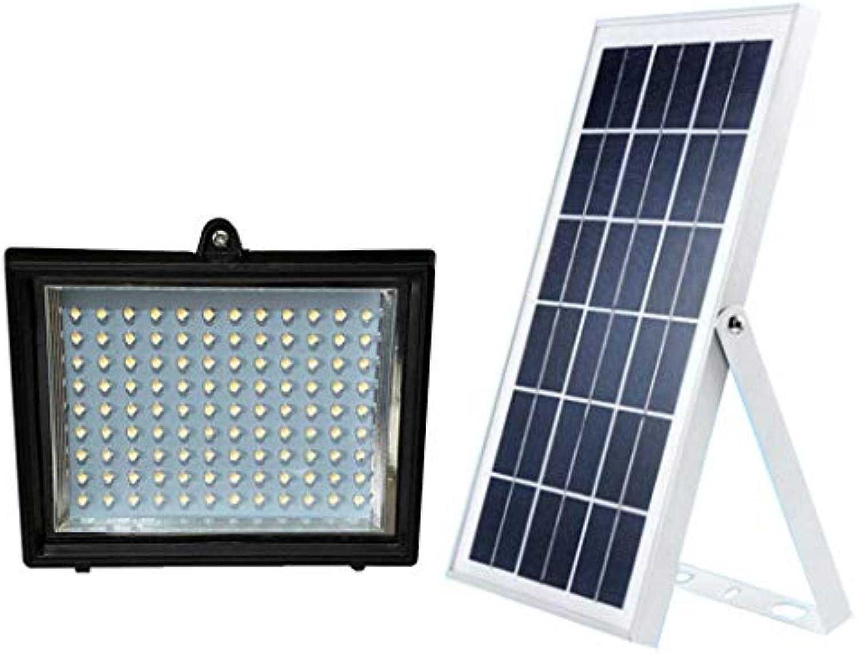 Perfk LED Lampe Solarlampe Dachrinnen Licht Wandleuchte für Zaun - weies Licht