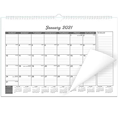 """Wall Calendar 2020-2021 for Organizing Planning 18 Month 15"""" x 11.5"""""""