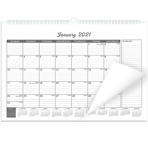 """Wall Calendar 2021 for Organizing Planning 12 Month 15"""" x 10.5"""""""