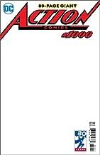 ACTION COMICS #1000 BLANK VAR ED RELEASE DATE 4/18/2018