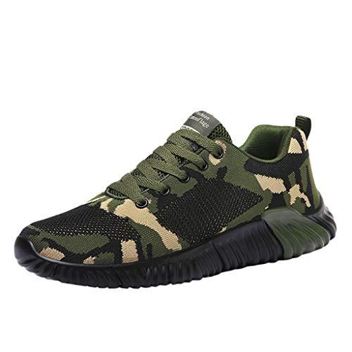 HROIJSL Trainer Unisex-Erwachsene Sneaker Casual Running greifen Air Atmungsaktiv Turnschuhe auf Slippers Espadrilles Mode Sportschuhe Fitness Bequeme Sneakers für Männer Low Halbschuhe