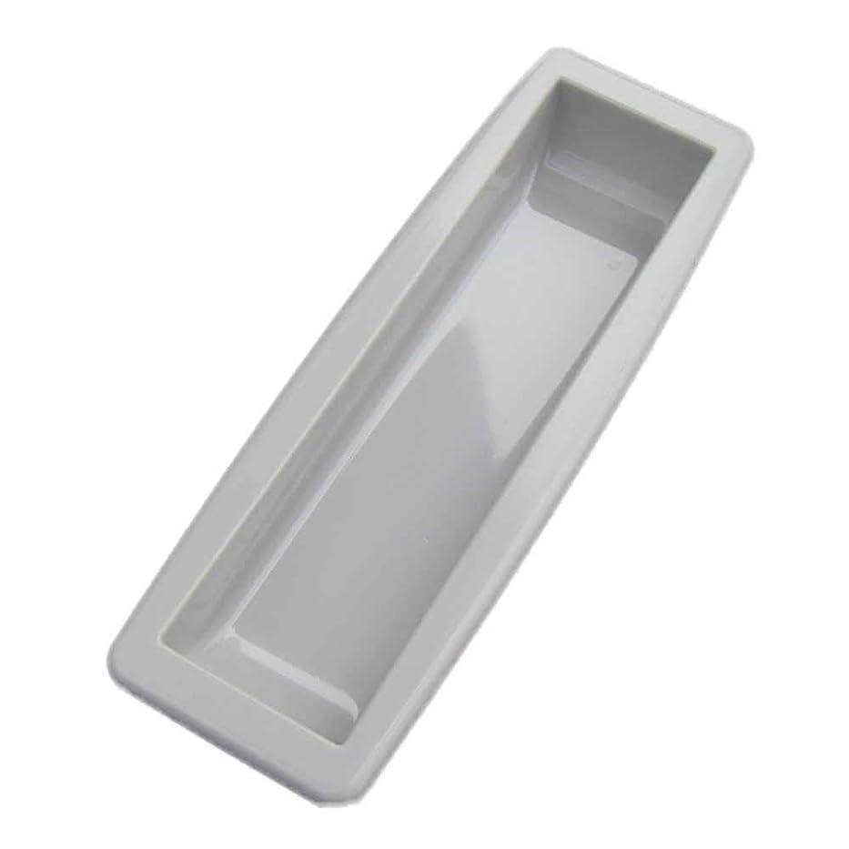 ブレイズスクラッチつぼみS-1G シャッター用手掛け(三和シャッター) ライトグレー 85mm × 27mm