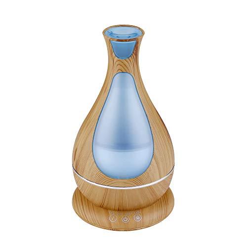 GYZBY Humidificador De Aromaterapia Humidificador De Grano De Madera Difusor Ultrasónico De Aceite Esencial Difusor De Aire