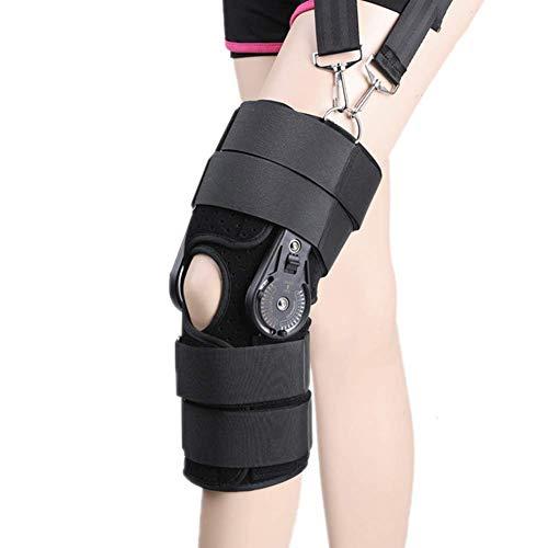 Ortesis de rodilla, férula de rodilla, rodillera, protector deportivo para la estabilidad de la rodilla, ayuda de recuperación, alivio del dolor de tendinitis, soporte de ligamento, hiperexten