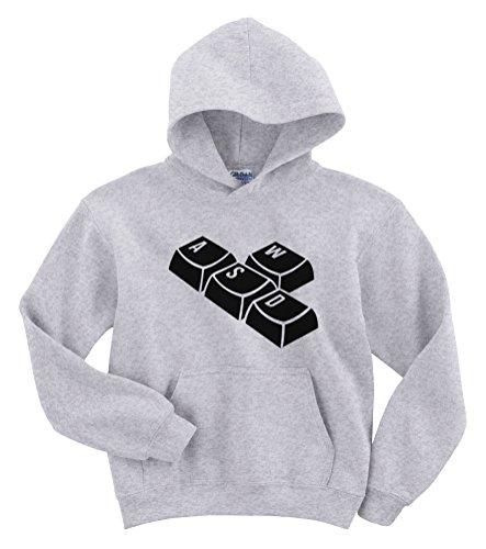 Toetsenbord WASD Grappige Gamer Hoodie Sweater [Kies maat & kleur]