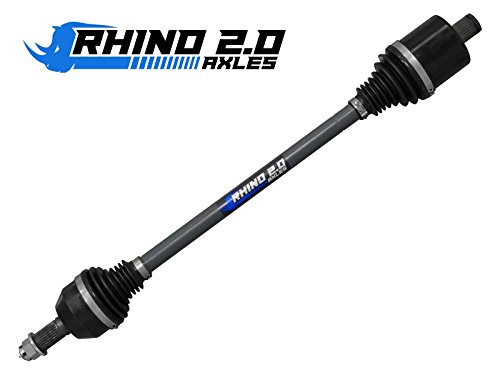 SuperATV Heavy Duty Rhino 2.0 Polaris RZR 800 Stock Length Axle (2008+) - REAR