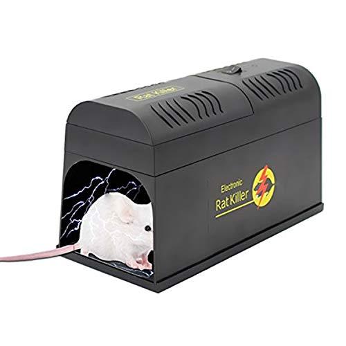 2021 Nuovo Trappole elettroniche per topi e mouse, roditore, chipmunk zapper ,Killer di trappole per topi topo di topo di roditori istantanee e umane , Trappola per topi di topo efficace e powful-Mess