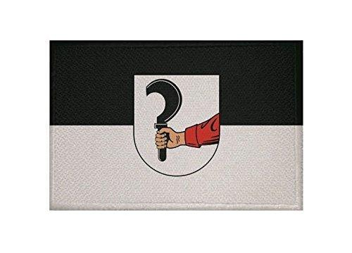 U24 Aufnäher Talheim bei Heilbronn Fahne Flagge Aufbügler Patch 9 x 6 cm