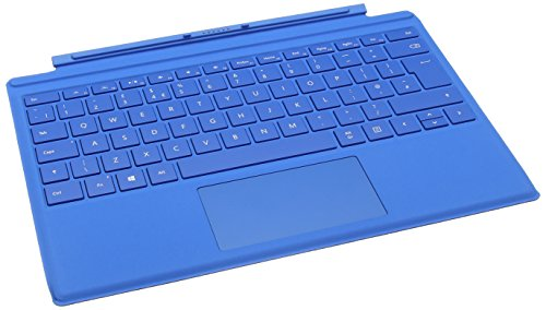 Microsoft Surface Pro 4 Type Keyboard- compatible with Surface Pro - Bright Blue