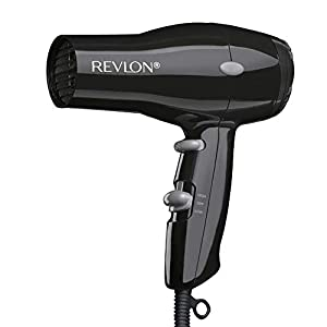 Beauty Shopping REVLON 1875W Lightweight + Compact Travel Hair Dryer, Black