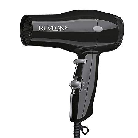 Beauty Shopping REVLON 1875W Lightweight + Compact Travel Hair Dryer, Black