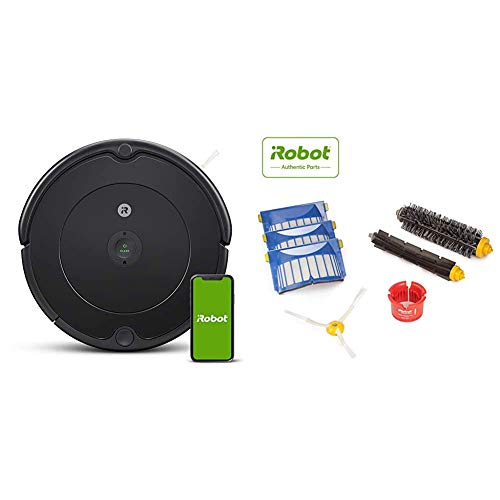 iRobot Roomba 692 Robot Vacuum-Wi-Fi Connectivity, Works with Alexa with iRobot 4636432 Authentic Replacement Parts- Roomba 600 Series Replenishment Kit